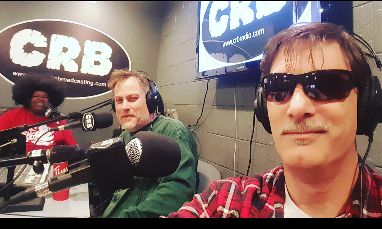 Jamie & Rick recording Jazz Cabbage Cafe