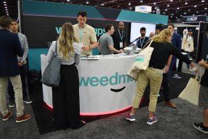 Weedmaps Booth